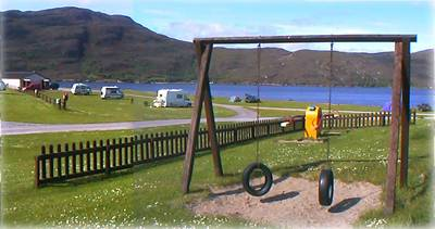 Broomfield Holiday Park, Ullapool,Highlands,Scotland